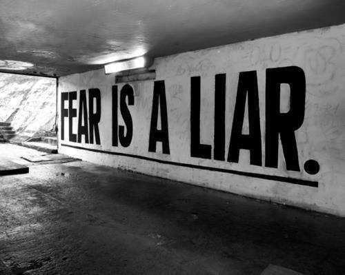 האופציה השנייה להתמודדות עם הפחד