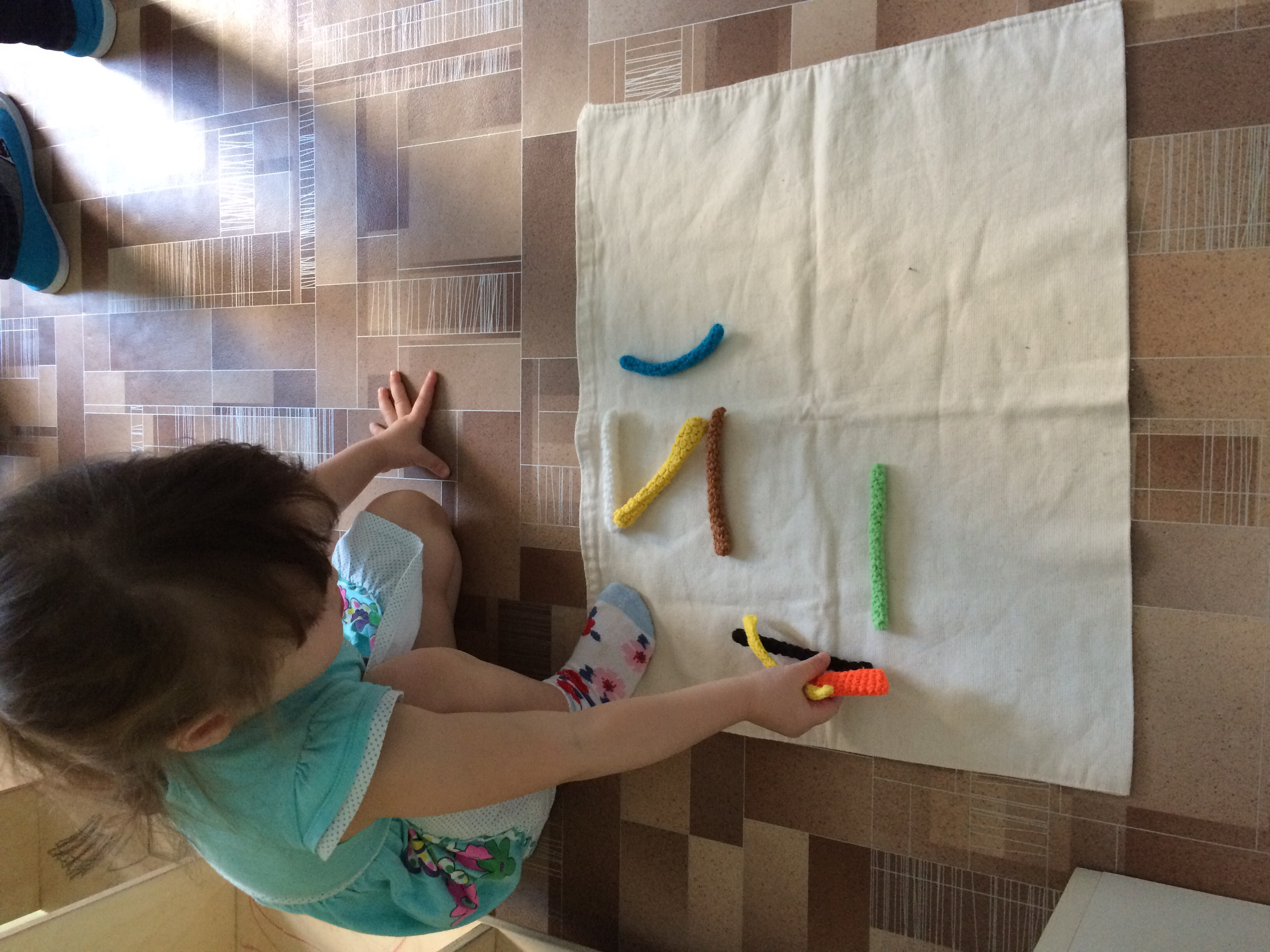 Палочки-игралочки, подготовка руки к письму