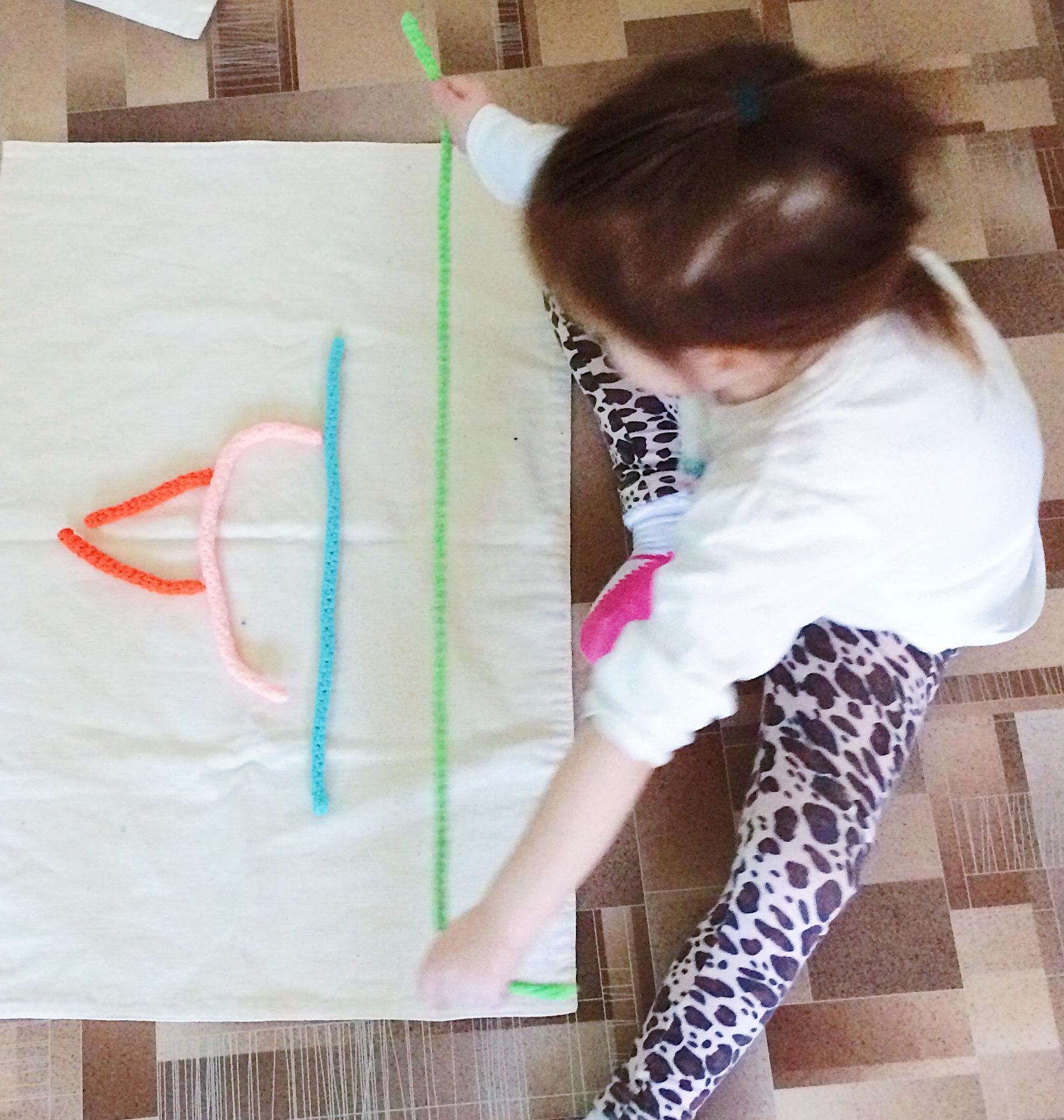 Мягкие прописи, подготовка руки к письму