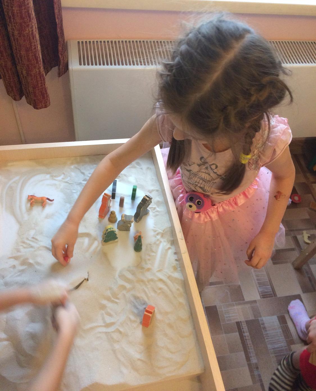 сюжетно-ролевые игры на песке