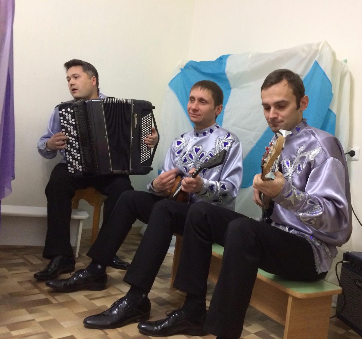 Ансамбль русских народных инструментов _Сибирские узоры_