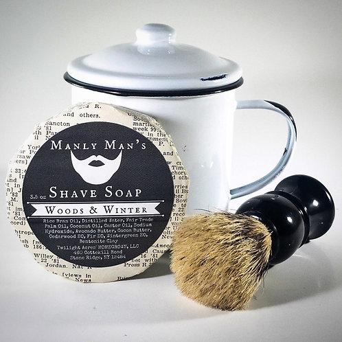 Shave Soap Starter Set
