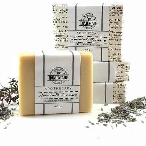Lavender & Rosemary Goat's Milk Soap