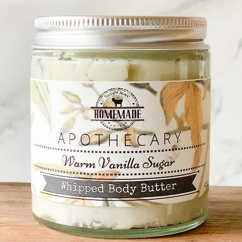 Warm Vanilla Sugar Whipped Body Butter