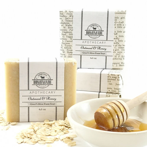 Oatmeal & Honey Goat's Milk Soap