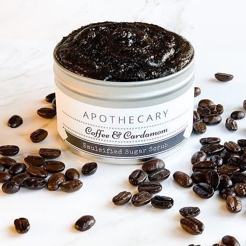 Coffee & Cardamom Emulsified Sugar Scrub