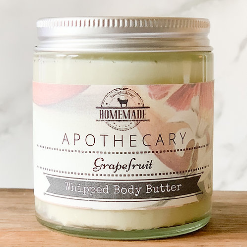 Grapefruit Whipped Body Butter