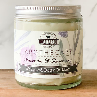 Lavender Rosemary Whipped Body Butter