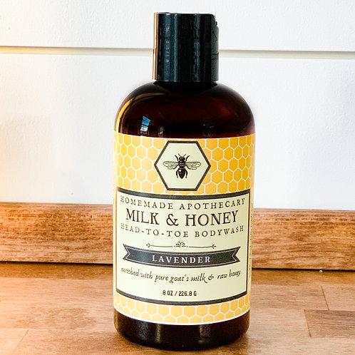 Goat's Milk & Honey Head-to-Toe Bodywash