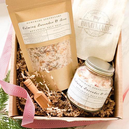 Flower Farmer's Complete Botanical Soak Gift Set