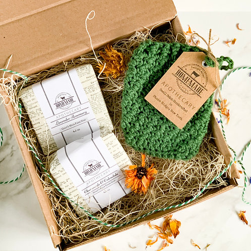 Goat's Milk & Crochet Gift Set