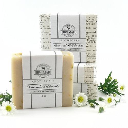 Chamomile & Calendula Goat's Milk Soap