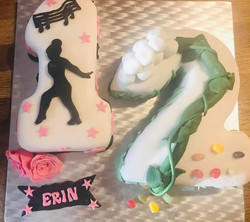 Number 12 Novelty cake