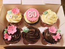 80 birthday cakes