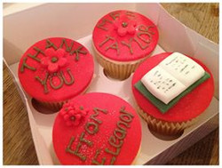 Teacher's thank you cupcakes