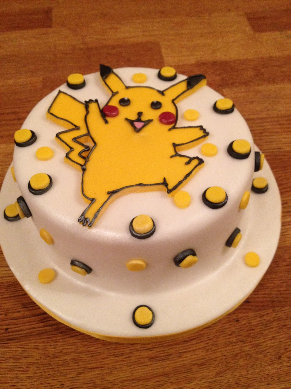 Pikacho birthday cake