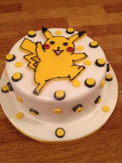 Pikacho birthday cake