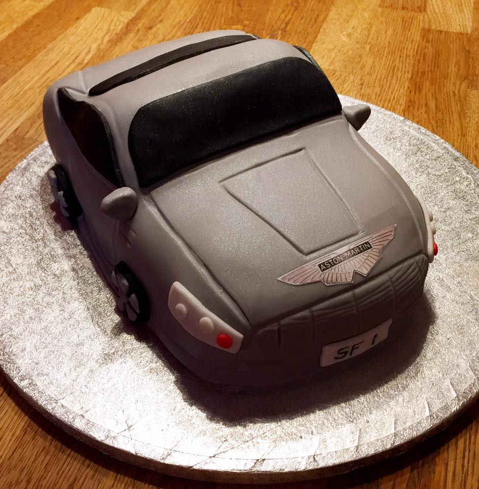 Aston Martin DB6 Cake