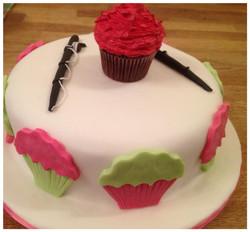 cupcake and fishing