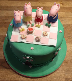Pepper Pig Tea Party Cae