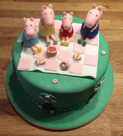 Pepper Pig Tea Party Cae