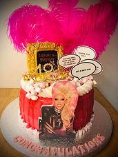 Ru Paul Birthday Cake