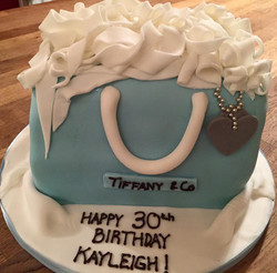 Tiffany Birthday Cake