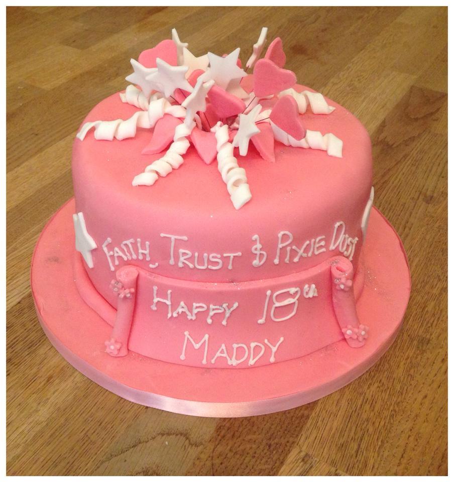 Pink Pixie Birthday Cake