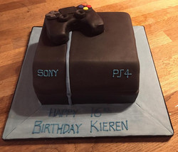 PS 4 Birthday  Cake