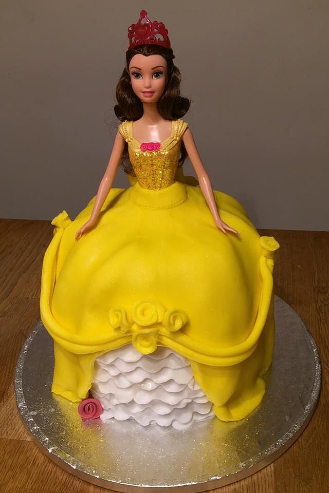 Creative Cakes by Kazcom Princess Belle Birthday Cake