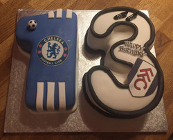 Number 12 Birthday Cake