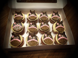 Horsey Cupcakes
