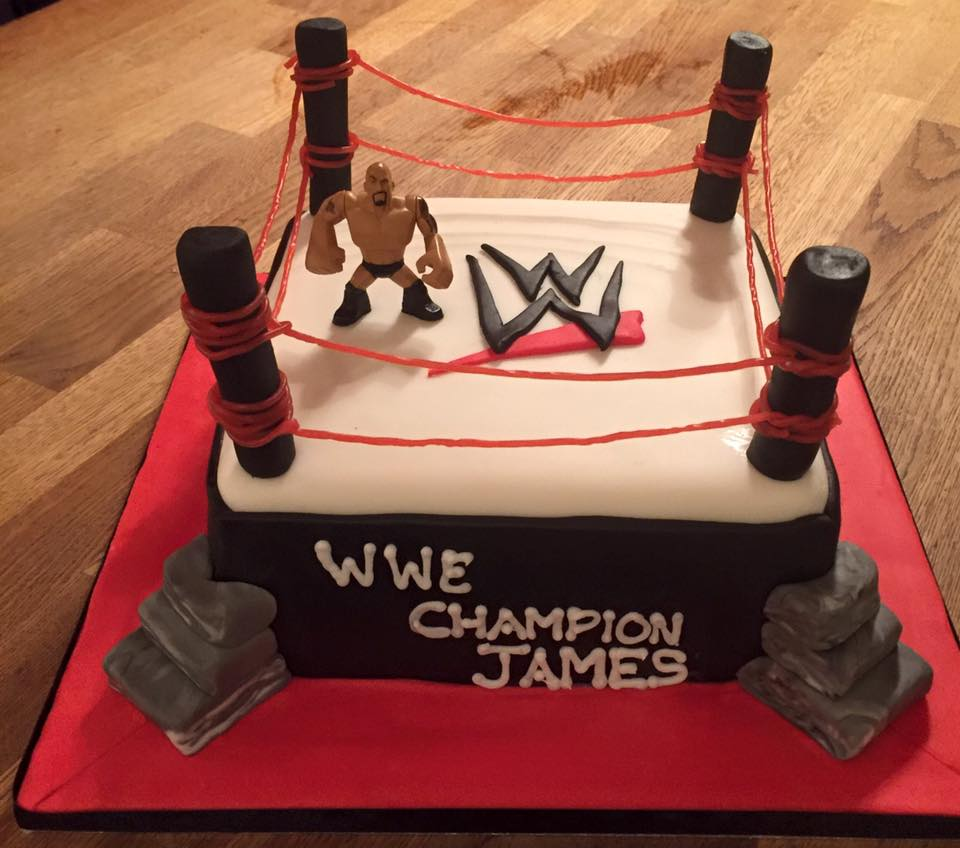WWE Birthday Cake