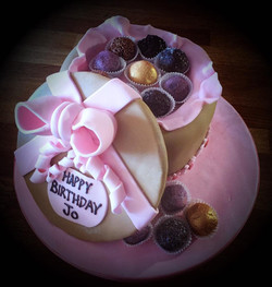 chocolate box birthday cake