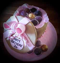 chocolate box birthday cake