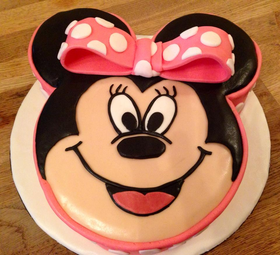 Maisie Mouse Birthday Cake