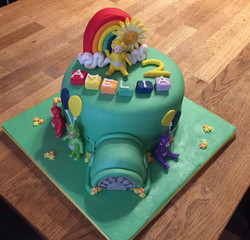 telletubbies cake