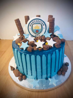 Manchester City Father's Day Cake