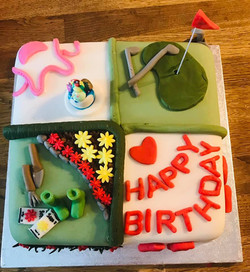 Birthday Cake 4 themes