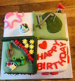 Birthday Cake 4 themes