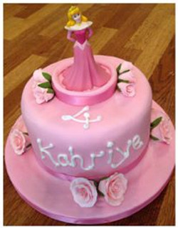 Princess themed cake