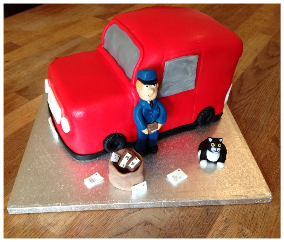 Postman Pat Van Cake