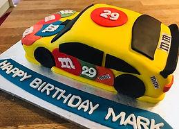 NASCA Birthday Cake