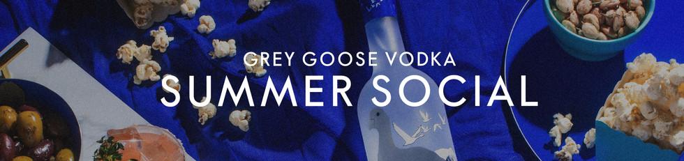 Grey Goose Vodka - Summer Social