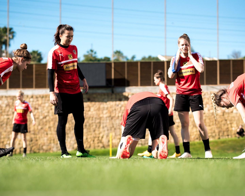ÖFB Frauen-Nationalteam in Marbella