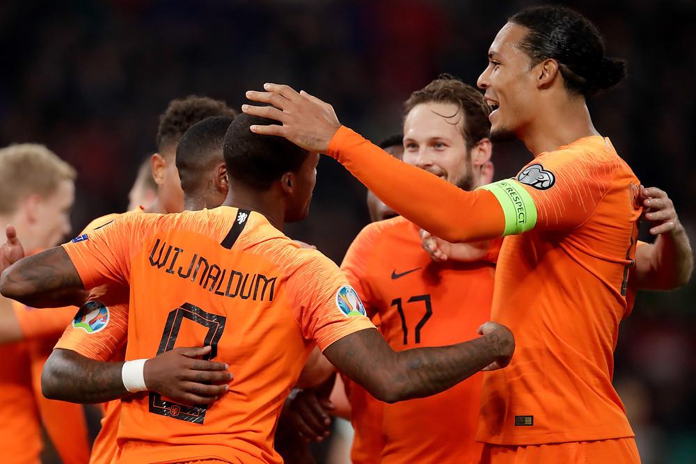 Wijnaldum, Van Dijk und Co. werden sich in Velden auf die UEFA EURO 2020 vorbereiten (c) KNVB Media