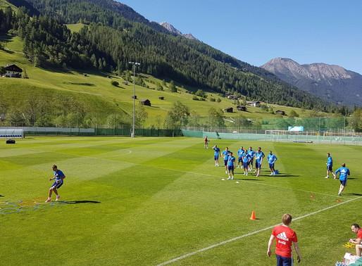Russland trainiert im Stubaital für die Heim-WM 2018