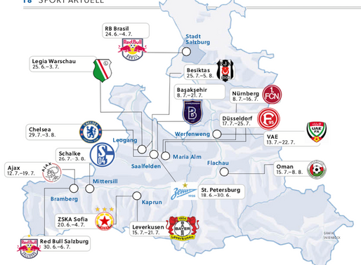 Salzburg lockt Topteams an
