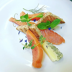 Citrus marinated Trout
