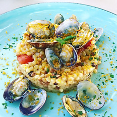 Fregola with Clams & Bottarga